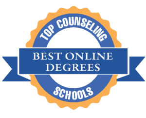top counseling schools badge